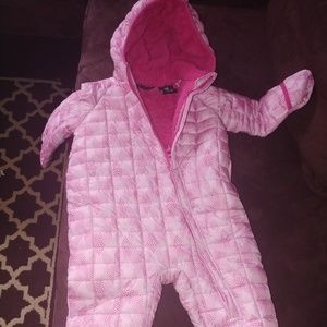 Glently used 18 month Winter Coat One-Piece